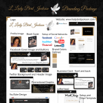 L. Lady Bird Jackson Branding Package
