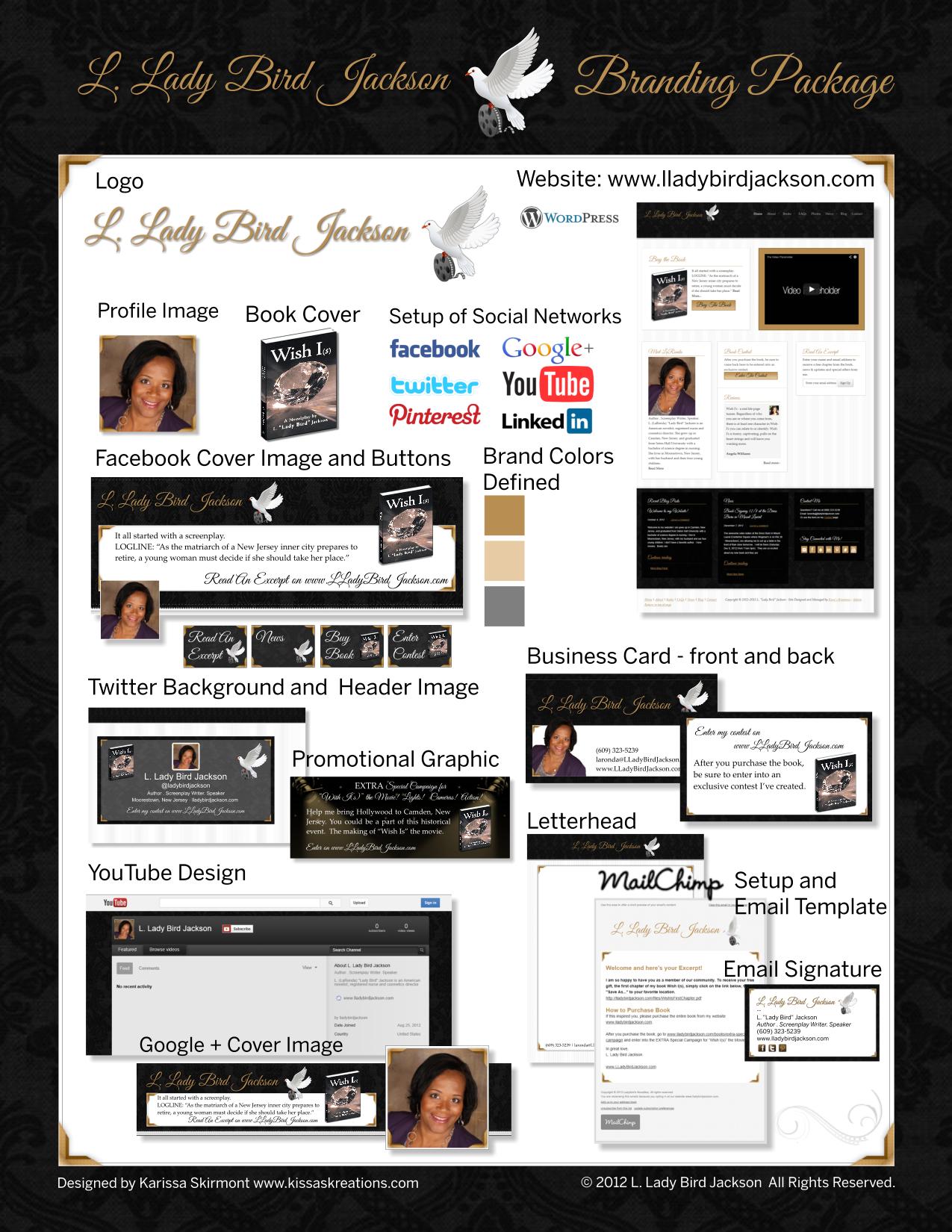 LaRonda Jackson Branding Package