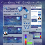 MC Lessard Branding Package