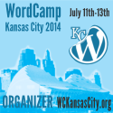 I was a WordCamp Kansas City 2014 Organizer
