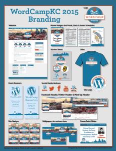 WordCampKC 2015 Branding Package