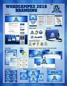 WordCamp KC 2016 Branding Package