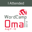 I attended WordCamp Omaha 2014